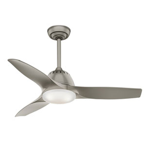 Wisp Pewter 44-Inch LED Ceiling Fan
