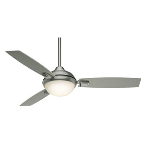 Verse Satin Nickel 54-Inch LED Energy Star Ceiling Fan