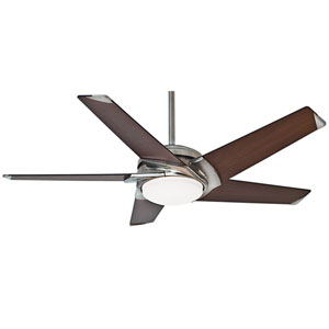 Stealth DC Brushed Nickel 54-Inch LED Energy Star Ceiling Fan