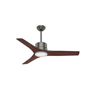 Piston Brushed Slate 52-Inch LED Ceiling Fan