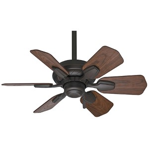 Wailea Brushed Cocoa 31-Inch Outdoor Ceiling Fan