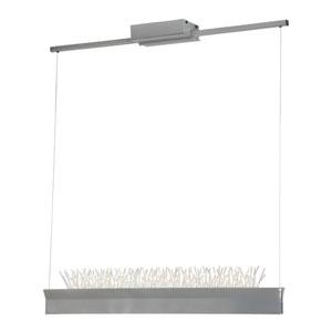 Anemone Silver LED Island Pendant