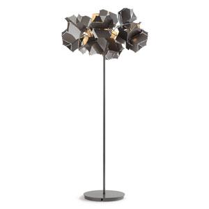 Cumulus Silver One-Light Floor Lamp