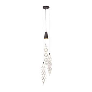 Marrakesh Black One-Light Long Pendant