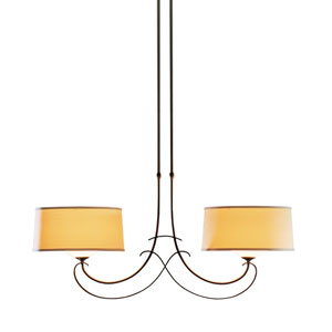 Almost Infinity Bronze 42.5-Inch Two-Light Chandelier
