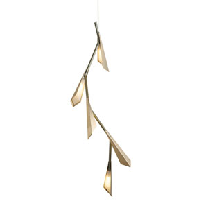 Quill Soft Gold LED Pendant