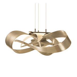 Flux Soft Gold LED Pendant
