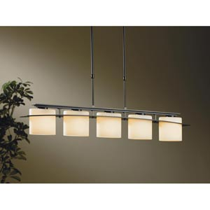Ellipse Dark Smoke Five-Light Pendant