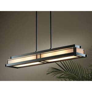 Steppe Dark Smoke Large Four-Light Pendant