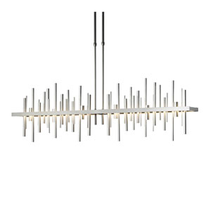 Cityscape Burnished Steel 52-Inch LED Pendant