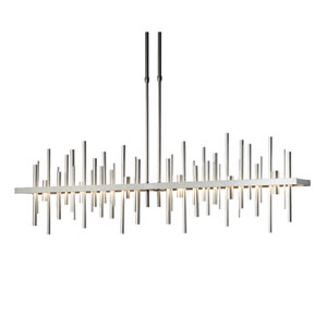 Cityscape Burnished Steel 51.5-Inch LED Pendant