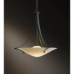 Antasia Burnished Steel One-Light Pendant with Sand Glass