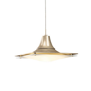 Hood Soft Gold One-Light Low Voltage Pendant