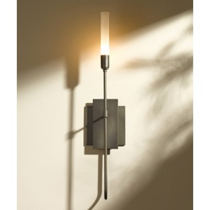 Lisse Dark Smoke One-Light Wall Sconce