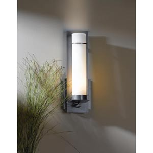 New Town Burnished Steel One-Light Sconce