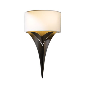 Calla Bronze Two-Light 10-Inch Wall Sconce
