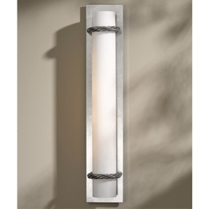 Cavo Vintage Platinum Four-Light Wall Sconce with Opal Glass