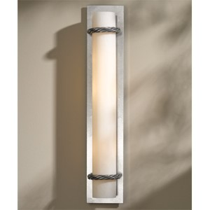 Cavo Vintage Platinum Four-Light Wall Sconce with Pearl Glass