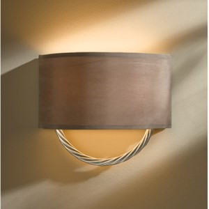 Cavo Vintage Platinum Two-Light Wall Sconce with Eclipse Shade