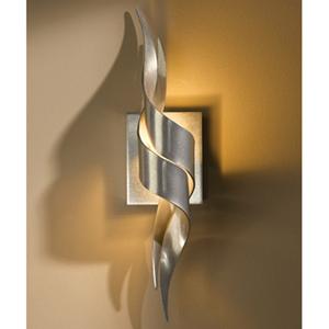 Flux Vintage Platinum One-Light Wall Sconce