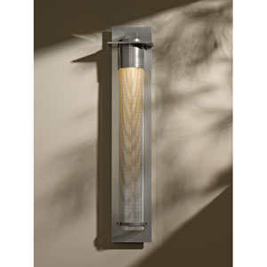 Airis Soft Gold 33-Inch One-Light Wall Sconce with Mesh Tube Glass