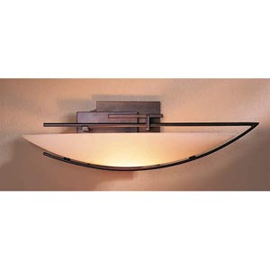 Ondrian Bronze Oval One-Light Sconce