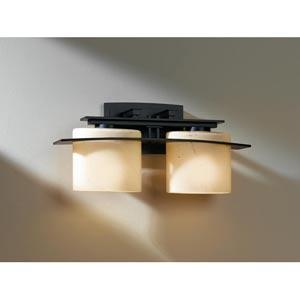 Ellipse Black Two-Light Bath Light