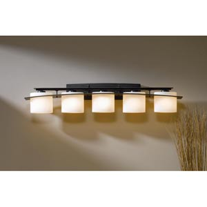 Ellipse Dark Smoke Five-Light Bath Light