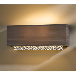 Oceanus Vintage Platinum Two-Light Wall Sconce with Eclipse Shade