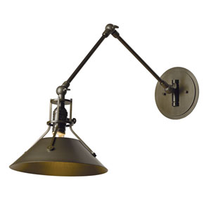 Henry Black One-Light 9-Inch Wall Sconce