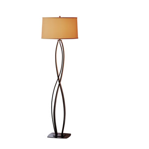 Almost Infinity Mahogany 18-Inch One-Light Floor Lamp