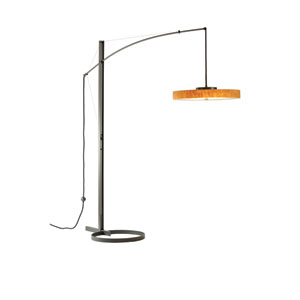 Disq Mahogany 23-Inch LED Floor Lamp