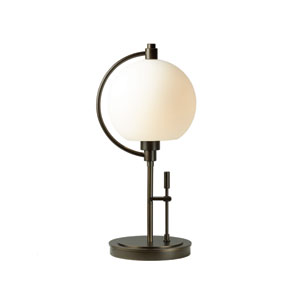 Pluto Bronze 19.5-Inch One-Light Table Lamp