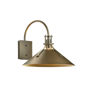 Henry Coastal Bronze One-Light 14-Inch Outdoor Wall Sconce