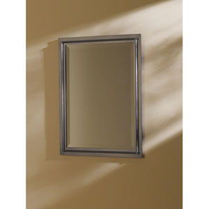 Rook Dark Smoke 26.8-Inch Beveled Rectangular Mirror