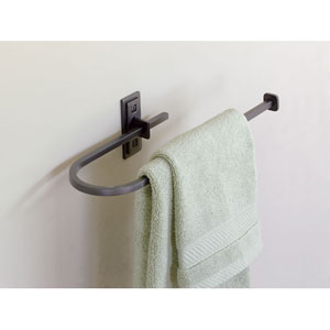 Metra Dark Smoke 14.5-Inch Towel Bar
