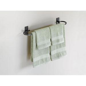 Metra Dark Smoke Curved Towel Bar