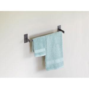 Metra Dark Smoke 17.5-Inch Towel Bar