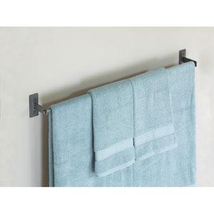 Metra Dark Smoke 33.5-Inch Towel Bar