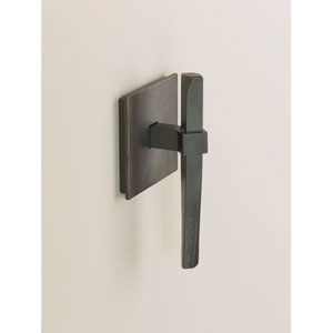 Beacon Hall Dark Smoke 5.6-Inch Robe Hook