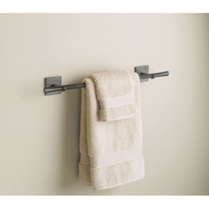 Beacon Hall Dark Smoke 2.5-Inch Towel Bar