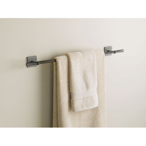 Beacon Hall Dark Smoke Towel Bar