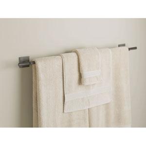 Beacon Hall Dark Smoke 38.3-Inch Towel Bar