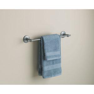 Rook Towel Bar Burnished Steel Finish