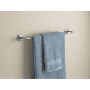 Rook Burnished Steel 26.50-Inch Towel Bar