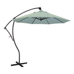 Bayside Bronze with Spa Nine-Feet Sunbrella Patio Umbrella