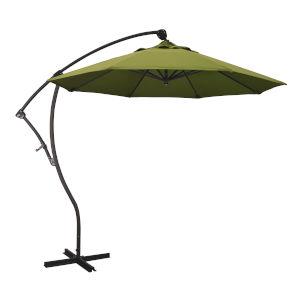 Bayside Bronze with Kiwi Nine-Feet Olefin Patio Umbrella