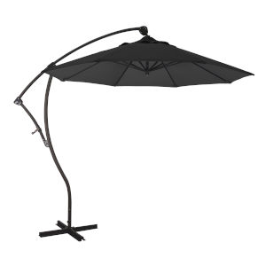 Bayside Bronze with Black Nine-Feet Pacifica Patio Umbrella