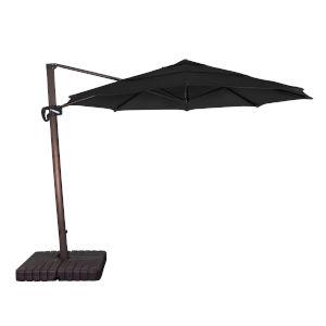 Cali Bronze with Black 11-Feet Sunbrella Patio Umbrella
