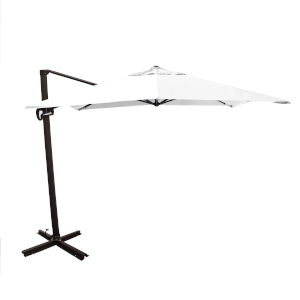 Cali Bronze with Natural 10-Feet Sunbrella Patio Umbrella